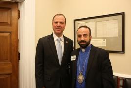 Американский конгрессмен встретиkся с Предстоятелем Армянской Церкви в Дамаске
