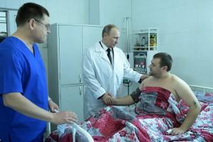 Владимир Путин ознакомился на месте с ситуацией в Волгограде