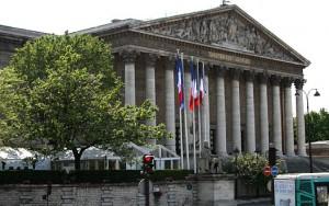 Житель Франции выгрузил фуру с навозом прямо перед зданием Национального собрания