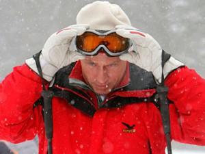 Президент Путин в Сочи инспектирует олимпийские объекты на готовность к Зимним Играм