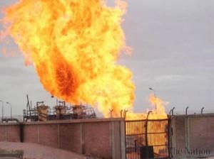 Египетские боевики взорвали газопровод в Синае