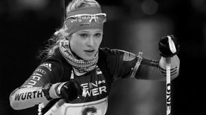 Немецкая 19-и летняя биатлонистка застрелилась из винтовки