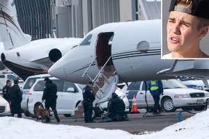 Самолет Джастина Бибера задержали в аэропорту Соединенных Штатов из-за запаха марихуаны