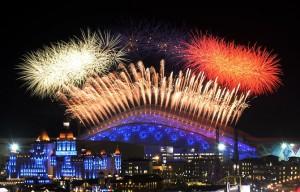 За открытием Сочинских олимпийских игр следило 3 миллиарда телезрителей