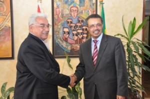 Министр иностранных дел д-р Тедрос принял участие в переговорах с парламентской делегацией ЕС