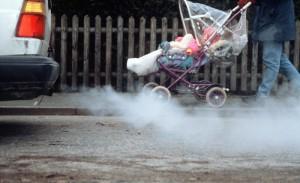 Грязный воздух является мировой угрозой человеческому здоровью