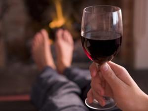 Красное вино полезно для людей, которые ведут «ленивый» образ жизни