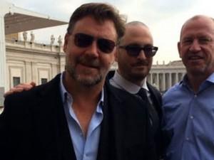 Папа Римский благословил киноленте «Ной» при личной встрече с Расселом Кроу