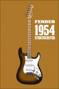 Первая гитара Fender Stratocaster продана в Соединенных Штатах за 250 тысяч долларов