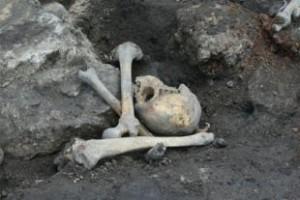 Школьник из Соединенных Штатов откопал останки индейца