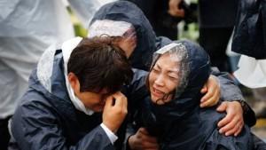 159 человек - число жертв потерпевших крушение корейского парома