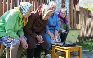 Интернет помогает пожилым людям бороться с депрессией