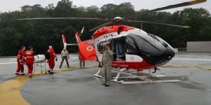 Медицинский вертолет упал на крышу детской больницы в Соединенных Штатах