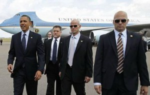 Норма потребление алкогольных напитков для охранников Обамы потерпела изменения