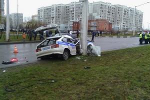 Сотрудник ДПС погиб в результате аварии в Кузбассе
