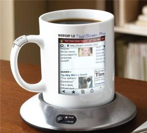 Создана чашка с выходом в интернет