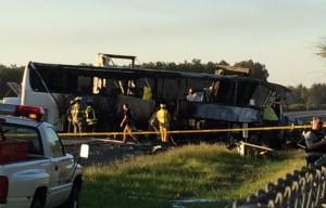 В результате дорожно-транспортного происшествия в Калифорнии погибли девять студентов местного колледжа