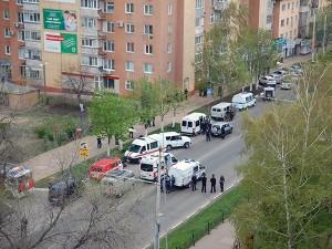 Захватчик банка в Белгороде помещен в изолятор