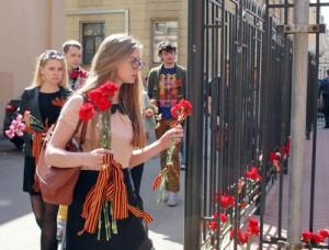 Проект «Сеть» провел акцию возле украинского консульства