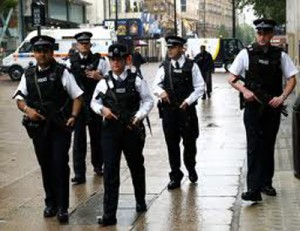 Южная часть британской столицы перекрыта полицейскими