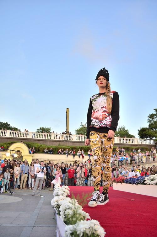 Показ новой коллекции одежды от проекта «Сеть» в Севастополе