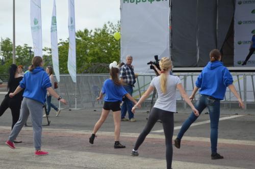 Активисты молодёжного проекта «Сеть» организовали физическую разминку для каждого жителя Владивостока