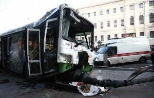 ДТП в центре Питера пострадало 24 человека