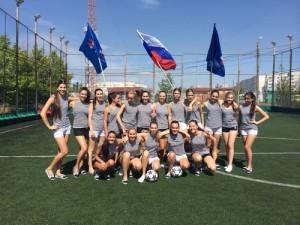 «Дочери офицеров» поддержали сборную России