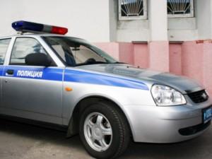 К полицейскому участку в столице подогнали авто с оружием внутри