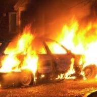 На столичной штрафстоянке шесть автомобилей сгорели дотла