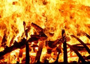 При пожаре в московском храме погиб неизвестный мужчина