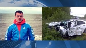 В автокатастрофе погиб бобслеист Николай Хренков