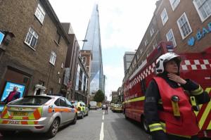 В Лондоне горит самый высокий небоскреб ЕС