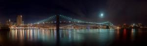 Бруклинский мост частично разрушен, есть пострадавшие