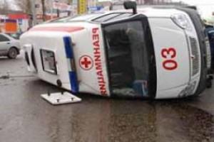 """ДТП с участием """"скорой помощи», есть пострадавшие"""