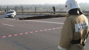 Начались обыски по делу об обвале возле Симферополя