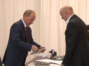 Владимир Путин воспользовался правом проголосовать досрочно на выборах депутатов Мосгосдумы