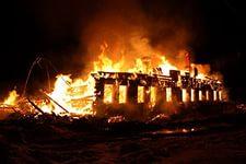 За ночь в Новгородской области сгорело шесть домов