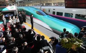 Самый быстрый поезд запустили в Японии