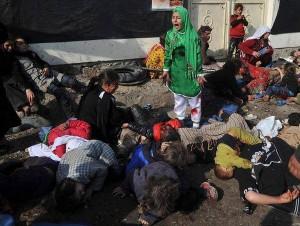 В Сирии убиты десятки детей - алавитов