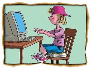 Все свободное время каждый второй российский школьник проводит в сети