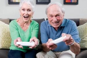 В пожилом возрасте от депрессии могут спасти компьютерные игры