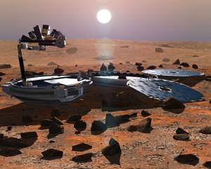 На Марсе найден британский космический зонд, пропавший 11 лет назад