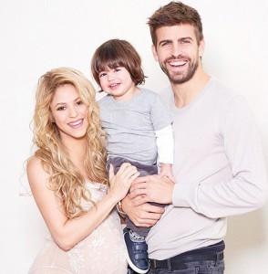 Шакира и Пике назвали второго сынишку Сашой