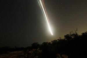 NASA: в небе над Америкой сгорел метеор