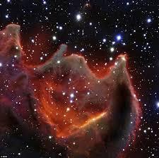 """В космосе астрономы нашли """"Божью руку"""""""