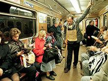 Попрошайкам в столичном метрополитене грозят штрафы 5 000 рублей