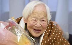 Самая пожилая жительница Земли Мисао Окава отпраздновала 117 - летие