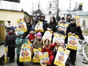 ГК Сладкая Сказка провела очередную детскую благотворительную акцию
