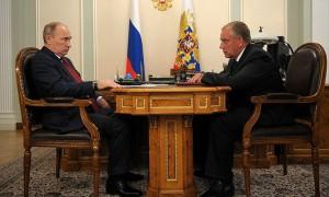 Губернатор Великого Новгорода встретился с Владимиром Путиным